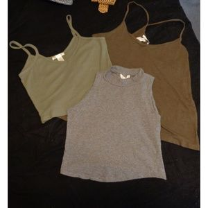 3 Crop Tops for $10